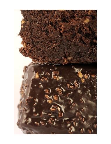Cake au chocolat 6/8 parts