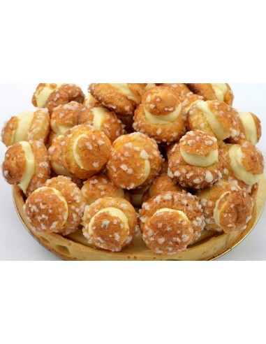 Profiterolle glacée 6/8 pers